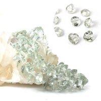 ブレス グリーンアメジスト ハートカット 12mm 高品質の輝き 透明度抜群 天然石 品番: 13893