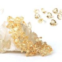 ブレス シトリン ハートカット 10mm 高品質の輝き 透明度抜群 天然石 品番: 13895