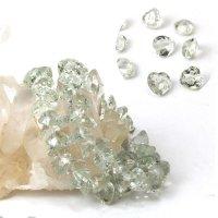 ブレス グリーンアメジスト ハートカット 10mm 高品質の輝き 透明度抜群 天然石 品番: 13892