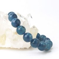 ブレス ディープアクアマリン 丸 約12mm ブラジル産 3月誕生石 幸せ 喜び 天然石 品番:14050