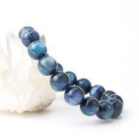 ブレス カイヤナイト 丸 約11mm ブラジル産 直感力 ヒーリング 天然石 品番: 14063