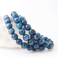 ブレス カイヤナイト 丸 約9.5mm ブラジル産 直感力 ヒーリング 天然石 品番: 14061