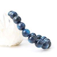 ブレス カイヤナイト 丸 約11.5mm ブラジル産 直感力 ヒーリング 天然石 品番: 14064