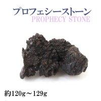 原石 プロフェシーストーン 約120gから129g 1個 サハラ砂漠産 オリジナルパッケージ付 予言石 レア 品番:14180