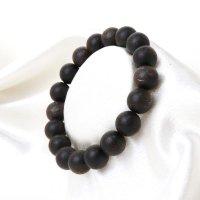 ブレス 沈香 約11mm 浄化 魔除け ヒーリング 瞑想 鎮静効果 天然木 品番: 14189