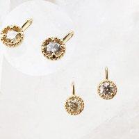 ペンダントトップ バースデー 4月 ダイヤモンド 18金ゴールド 3mm アフリカ産 天然石 ジュエリー 品番:14267
