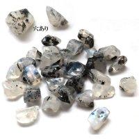 一粒売り ムーンストーン 小 穴あり スリランカ産 心身の不調 バラ石 天然石 パーツ 品番: 14312