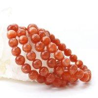 ブレス サンストーン 丸 約9mm インド産 癒し 浄化 サポート 天然石 品番:14316