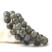 ブレス ラブラドライト 丸 約11.5mm マダガスカル産 自由 夢 ヒーリング 天然石 品番:14324