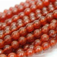連 カーネリアン(赤)  丸  3mm    品番: 9556