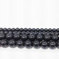 連 北投石(黒) 丸 6mm  品番: 9961
