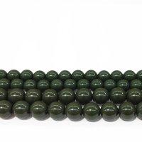 連 北投石(緑) 丸 8mm  品番: 9958
