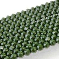 連 北投石(緑)スターカット 12mm  品番: 10768