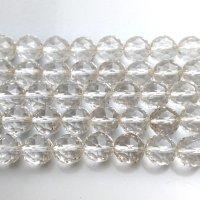 連 水晶 ダイヤモンドカット 12mm  品番: 8266