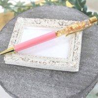 金箔入りボールペン シャイニーピンク  品番: 9776