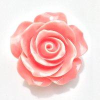 シェルパーツ(練り) バラA サーモンピンク  品番: 9661