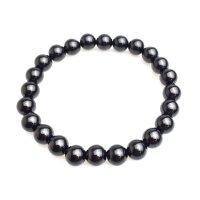ブレス モリオン(黒水晶)  8mm  品番: 6930