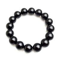ブレス モリオン(黒水晶) 14mm  品番: 6939