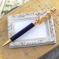 金箔入りボールペン ブルーカラー  品番: 9771