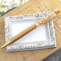 金箔入りボールペン ゴールドカラー  品番: 9775