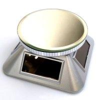 ソーラーディスプレイ台 銀  品番: 8000