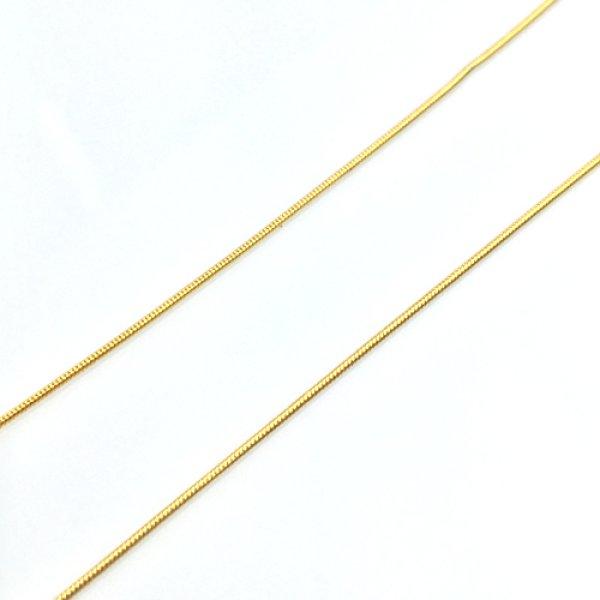 画像1: 【ワンコインチェーン】 サージカルステンレスチェーン S-23 (45cm)  品番: 9483