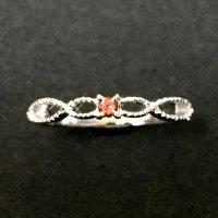 指輪 SV Birtday ring ガーネット 9号  品番: 9421
