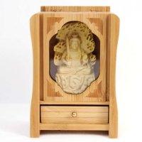 置物 木彫り 八尊仏 不動明王  品番: 10033