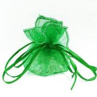 さざれ巾着 緑  品番: 7467
