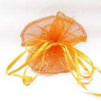 さざれ巾着 オレンジ  品番: 7494