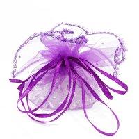 さざれ巾着 紫  品番: 7492